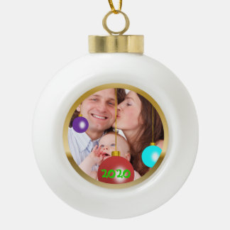 Personalised Photo Christmas Ornament