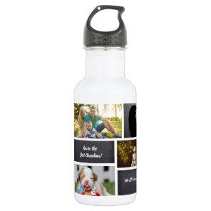 Personalised, Photo Collage, Custom 532 Ml Water Bottle