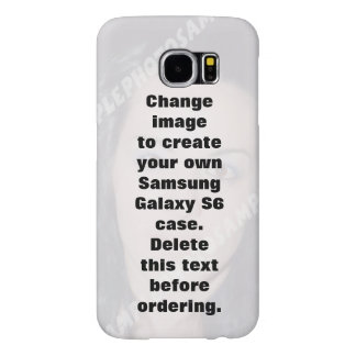 Personalised photo Samsung Galaxy S6 Case