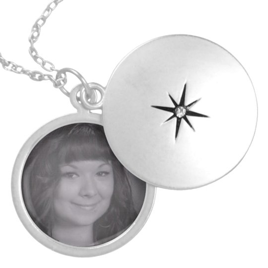 Personalised Photo Silver Plated Necklace