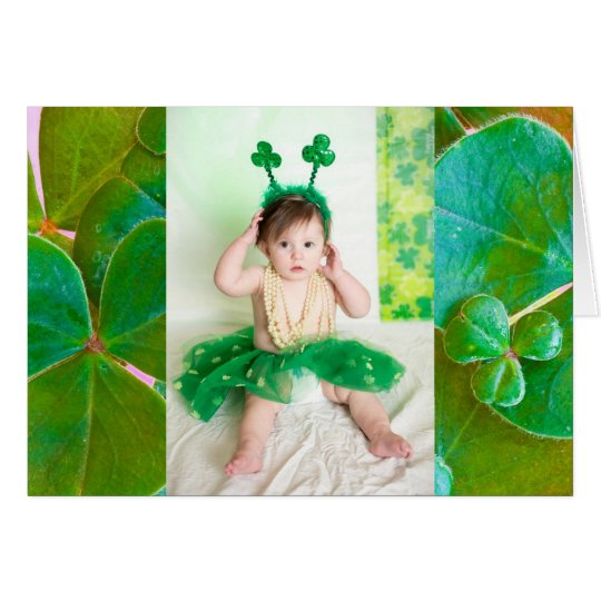 Personalised Photo St Patrick's Day Card