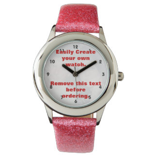 Personalised photo watch. Make your own! Watches