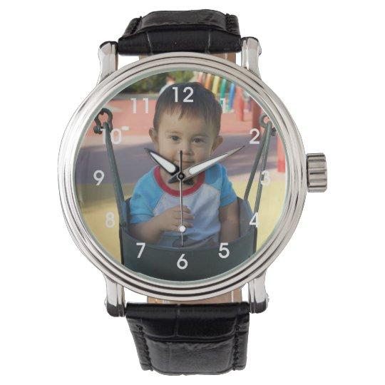 Personalised Photo Wrist Watch