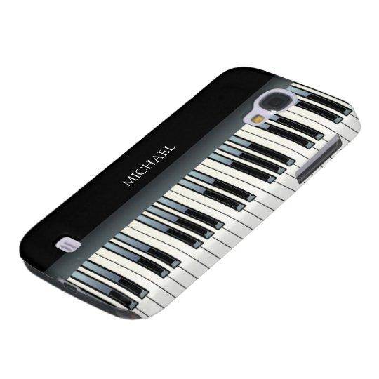 Personalised Piano Keys Galaxy S4 Case