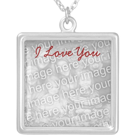 Personalised Picture Necklace