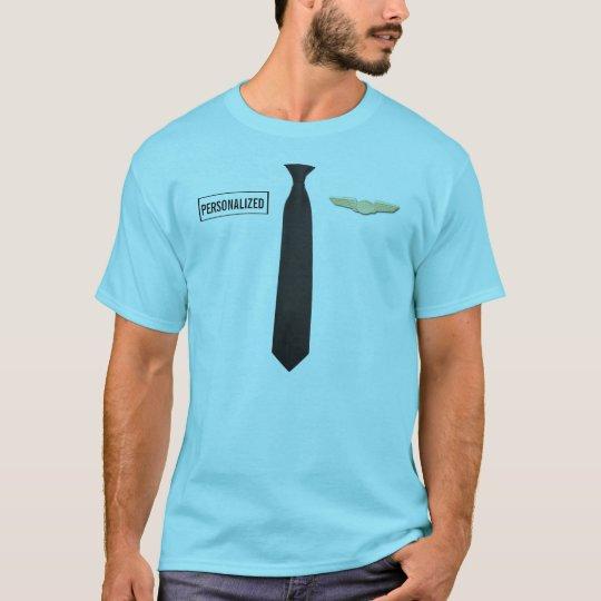 Personalised Pilot Shirt, Aviation Tshirt