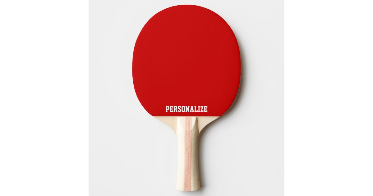 Personalised ping pong paddle for table tennis   Zazzle.co.uk
