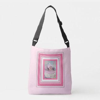 Personalised Pink baby photo Tote Bag