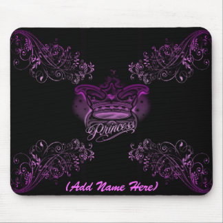 Personalised Pink Princess - Mousepad