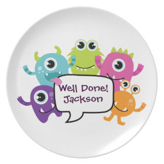 Personalised Plate to assist fussy eaters!