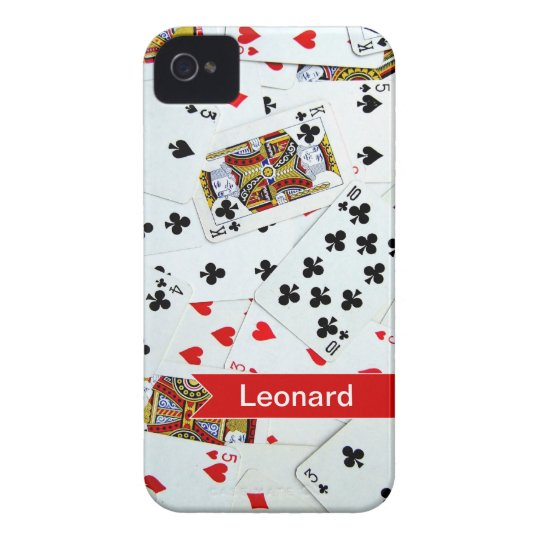 Personalised Playing Cards Games iphone cover