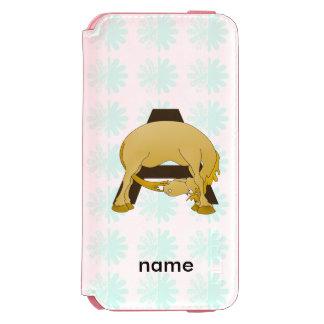 Personalised Pony Monogram A Incipio Watson™ iPhone 6 Wallet Case