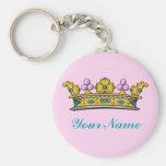 Personalised Princess Crown on Pink