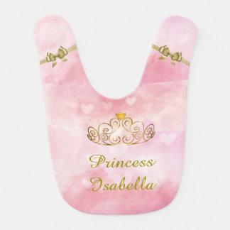 Personalised Princess Isabella Bib, Add Your Name Bib