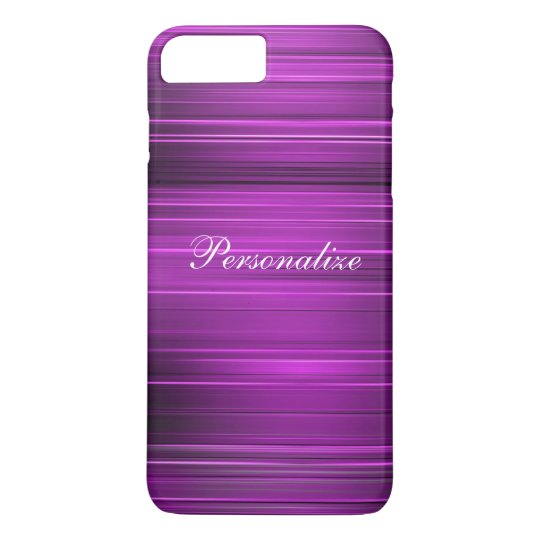 Personalised Psychedelic Purple iPhone 7 Plus Case