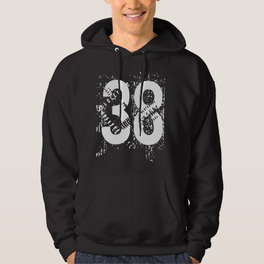 Personalised Pullover Hoodie with Number