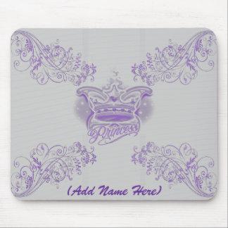 Personalised Purple Princess - Mousepad
