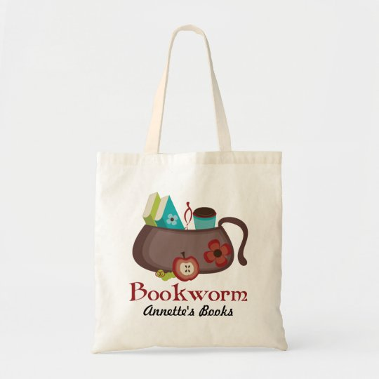 Personalised Reading Library Tote Bag