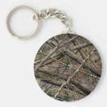 Personalised Real Camo / Camouflage (customisable) Basic Round Button Key Ring