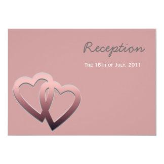 Personalised Reception Wedding Invite