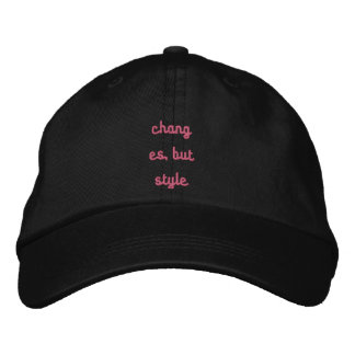 Personalised regulable cap embroidered hats