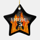 Personalised Rock Star Ornament
