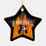 Personalised Rock Star Ornament