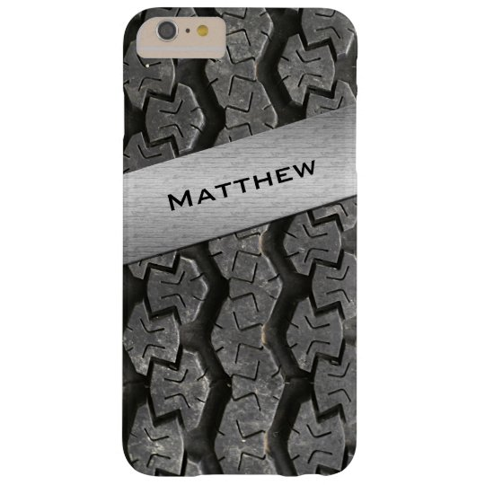 Personalised Rubber Tire Treads iPhone 6 Plus Case