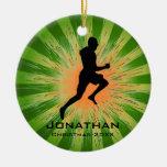Personalised Runner Ornament