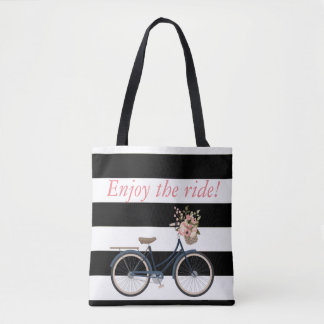 Personalised rustic bike Bag