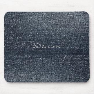Personalised Rustic Denim Look Mouspad Mouse Pad