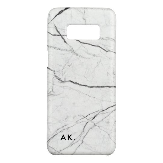 Personalised Samsung S8 case | Marble Phone Case