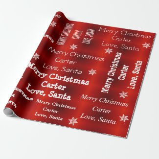 Personalised Santa Christmas