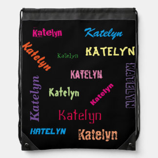 Personalised School/Swim/Gym/Dance Bag Any Name