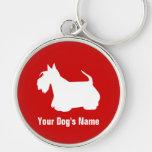 Personalised Scottish Terrier スコティッシュ・テリア Key Chain