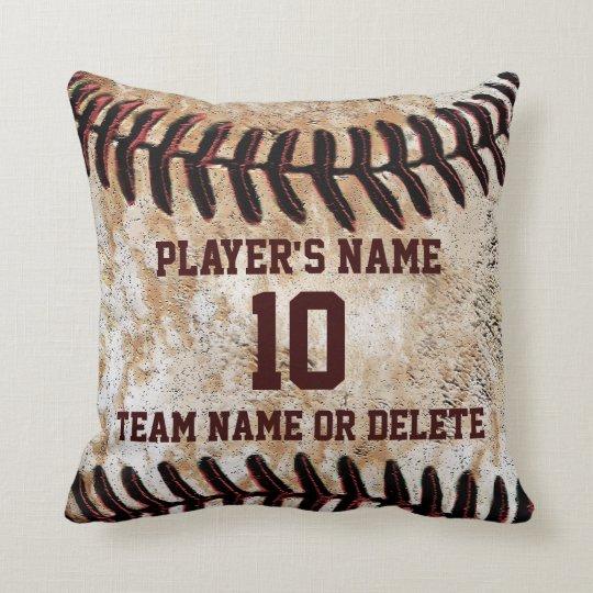 Personalised Senior Baseball Player Gift Ideas Cushion