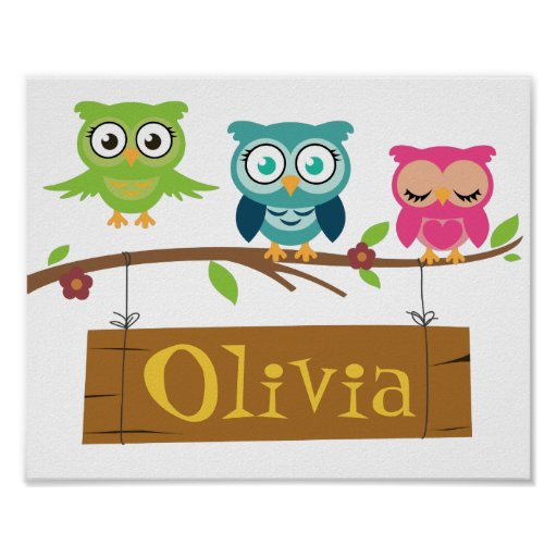 Personalised sign for children