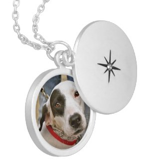 Personalised Silver Plated Lockets with Photos Necklace