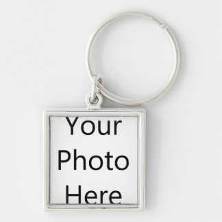 Personalised Small (3.5cm) Premium Square Keychain