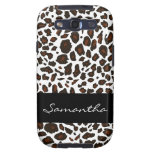 Personalised Snow Leopard Pattern