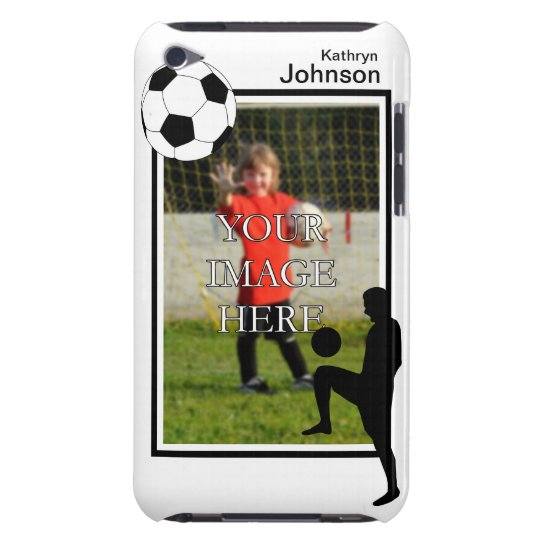 Personalised Soccer iPod Touch Case