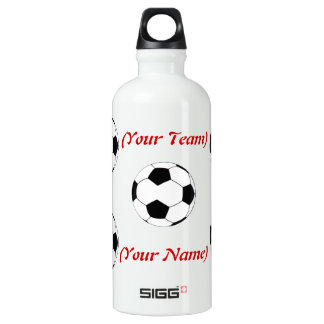 Personalised Soccer Liberty Bottle SIGG Traveller 0.6L Water Bottle