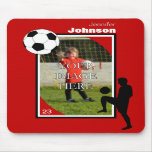 Personalised Soccer Mouse Pad