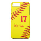 Personalised Softball iPhone 7 Plus Case