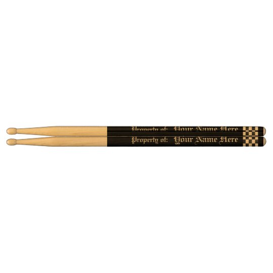 Personalised Solid Colour Drumsticks