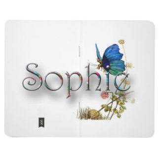Personalised `Sophie' design Journal