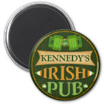 Personalised St. Patrick's Day Irish Pub Magnet