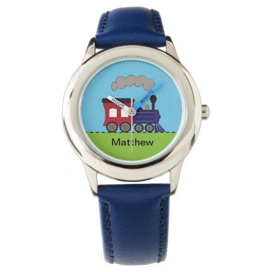 Personalised Steam Train Locomotive Watch