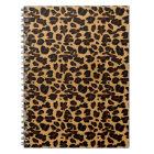 Personalised Stylish Chic Animal Leopard Print Notebook