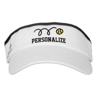 Personalised visor cap